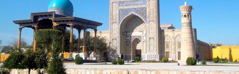 The seven Saints of Bukhara