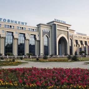 Northern Train Station Tashkent