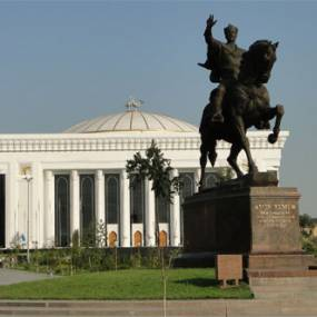The monument of Emir Timur