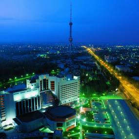 evening in Tashkent