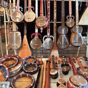 Uzbek national musical instruments