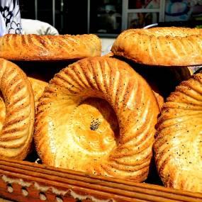 Uzbek flat cake